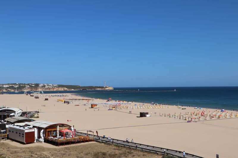 Algarve Praia da Rocha in the winter