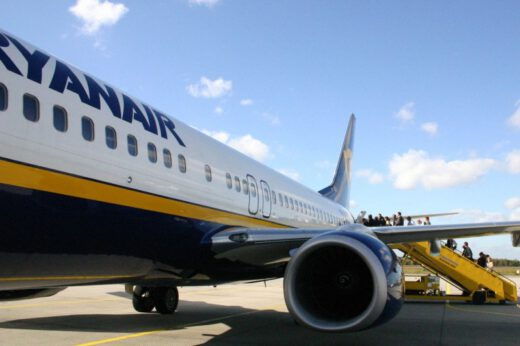Flying Ryan Air
